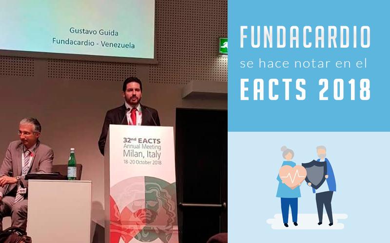 Fundacardio se hace notar en el EACTS 2018