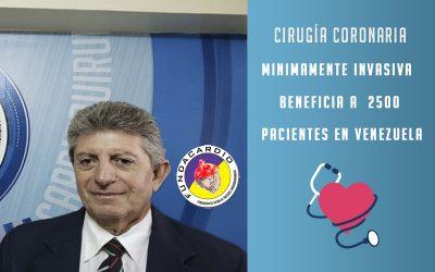Cirugía coronaria minimamente invasiva beneficia a 2500 pacientes en Venezuela